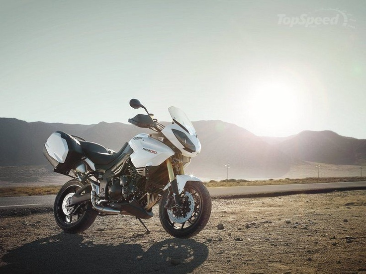 Triumph Tiger 1050 SE ABS - 2012 - Crystal White