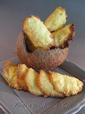 tuiles à la noix de coco, Franche-Comté