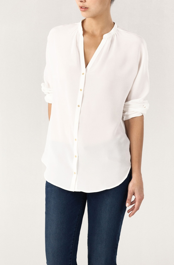 17 best images about white shirts on pinterest classic for Crisp white cotton shirt