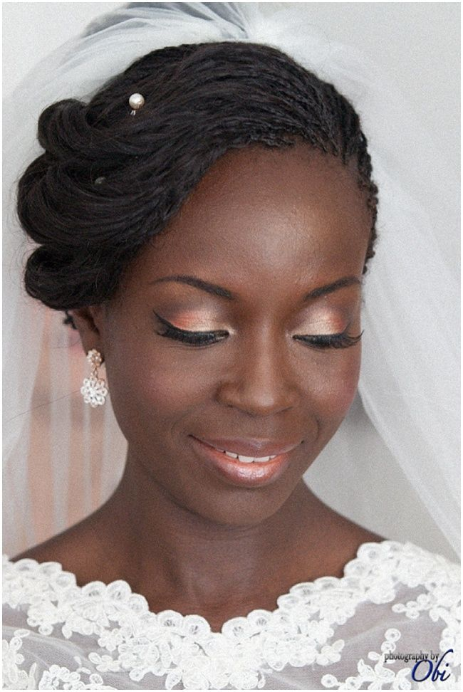 Inspirational Wedding Hairstyles & Styling Tips - Nu Bride Photography by Obi | Hair: Dionne Smith | Make up: Joy Adenuga