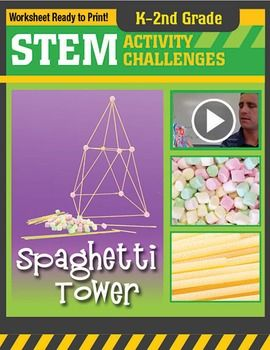 STEM Elementary Classroom ProjectIn this activity students will work in groups to build the tallest structure possible from mini-marshmallows and uncooked spaghetti noodles. Not only will the students learn the importance of working together as a team, but they will discover what shapes they need to make their tower strong.Updated July, 2015!This kit includes teacher instructions, student instructions (worksheet), grading rubrics, a demonstration video for the teacher, a materials needed…