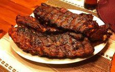 Amerikanska kamben med barbecuesås