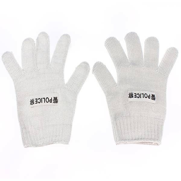 Description :  Stainless Steel Wire Anti-Slash Safety Work Cut Resistance Mesh Protect Gloves Features :  Soft and washable just like normal gloves, anti-static and very durable, Provide comfortable and safe protection for your hands. A good guardian in various occasions where you have to face...