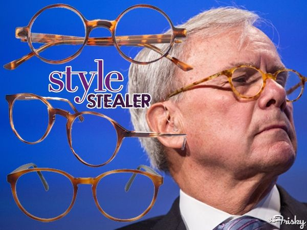 Election Night Style Stealer: Tom Brokaw's Rad Round Eyeglasses