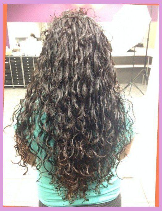 Spiral Perm Long Layered Hair Liked Hairstyles Long