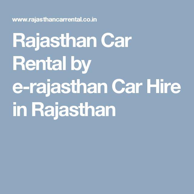 Rajasthan Car Rental by e-rajasthan Car Hire in  Rajasthan