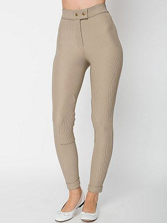 Riding Pant in Beige - American Apparel