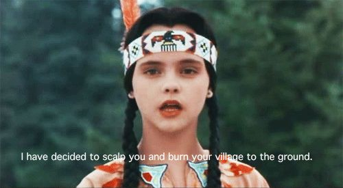 Wednesday Addams in The Addams Family Values.