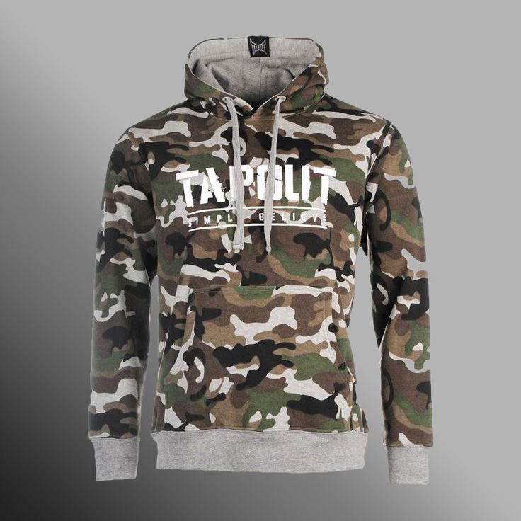 Mikina TAPOUT Camouflage dark