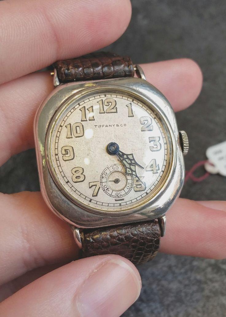 Vintage Tiffany Watch 1940s by SamuelsonsDiamonds on Etsy https://www.etsy.com/listing/236621780/vintage-tiffany-watch-1940s