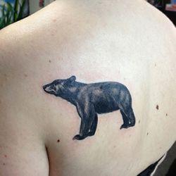Black Bear Tattoo Design