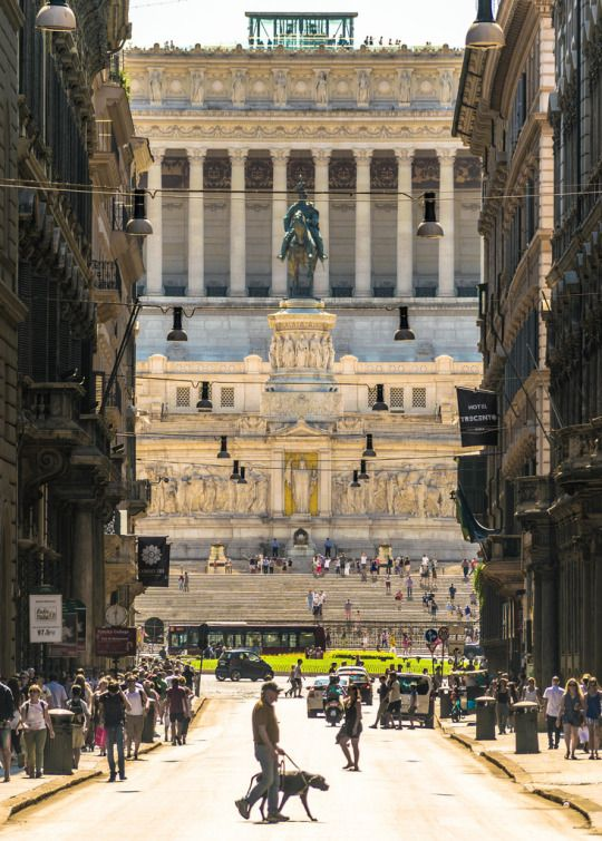 Via del Corso, Rome, Italy