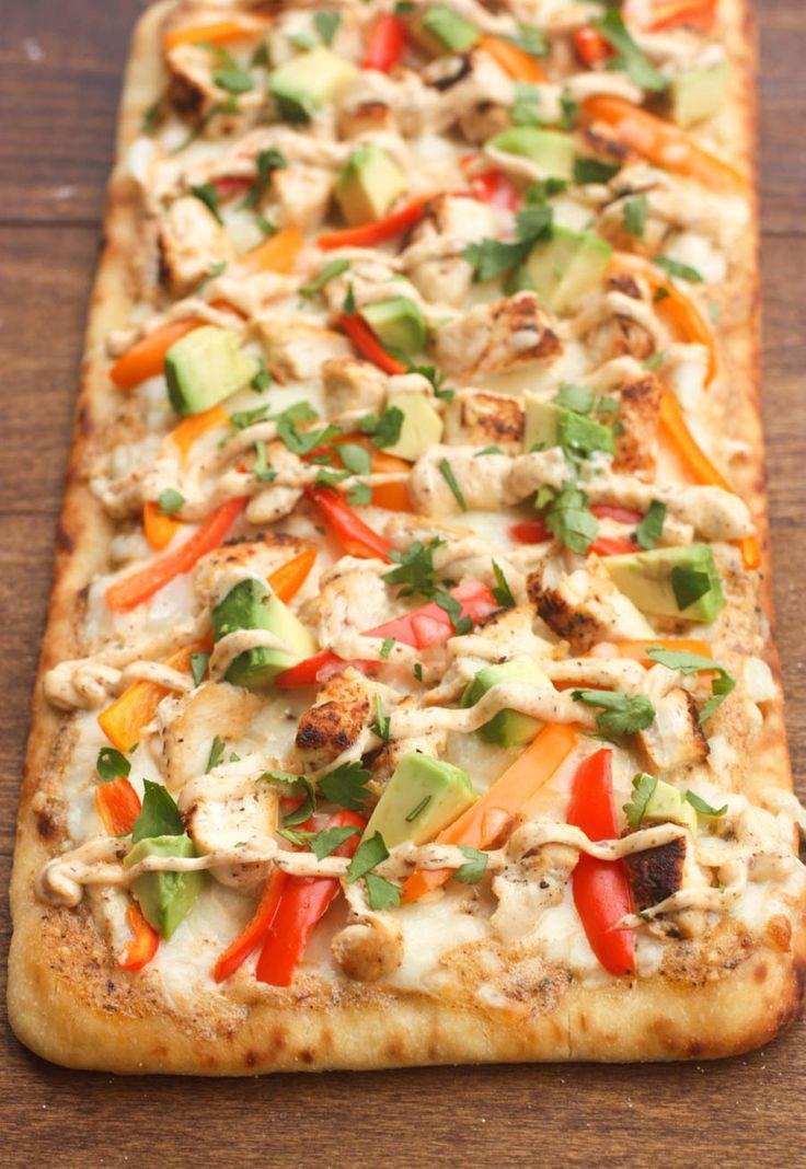 Cajun Chicken Flatbread | Tastes Better From Scratch