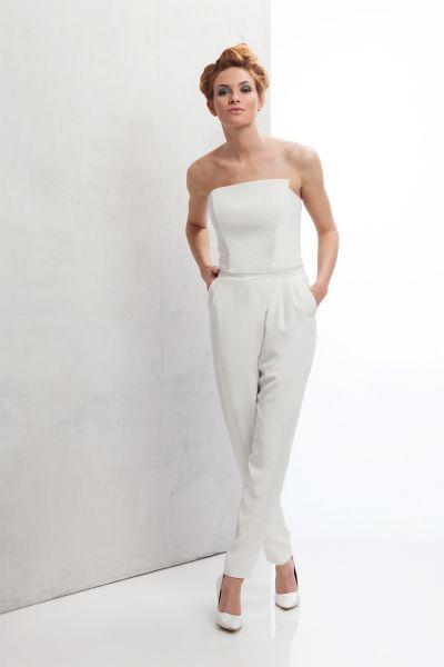 Hosenanzug für die Braut: tolle Modelle für Trauung und Standesamt Image: 2