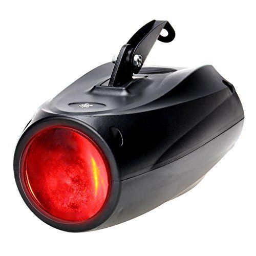 TSSS� 10W RGBW Akustisch Gesteuerte B�hnenbeleuchtung mit 64 LEDs und Halterung.Ultra Hellen Lichtstrahl und Multi Muster,LED Projektor Leuchte als Theaterbeleuchtung Effektlicht