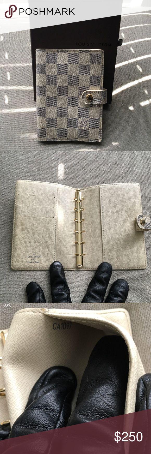 Louis Vuitton Agenda Louis Vuitton Damier Agenda. Made in Spain. No trades. 0.59X4.13X5.70.  Comes with Dust Bag Louis Vuitton Bags Travel Bags