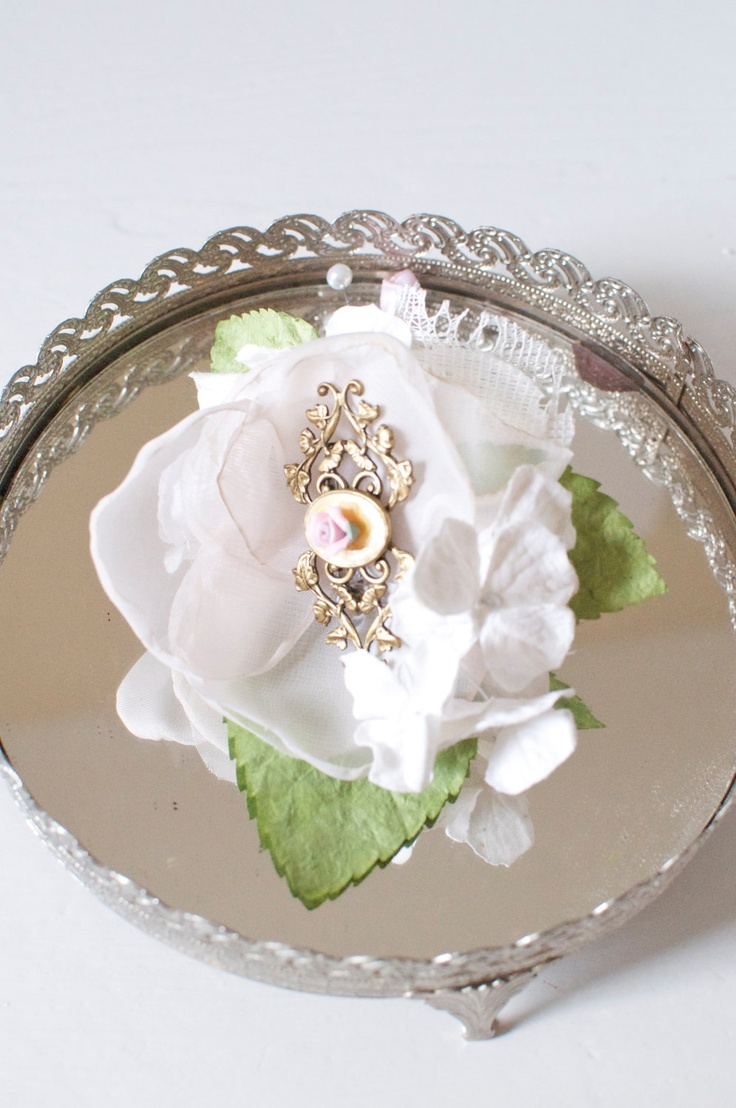 196 Best Fabric And Real Flower Corsages Boutineers Too Images On