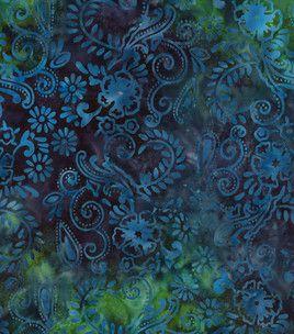 Batik fabric- Floral Swirl: batik fabric: quilting fabric & kits: fabric: Shop   Joann.com
