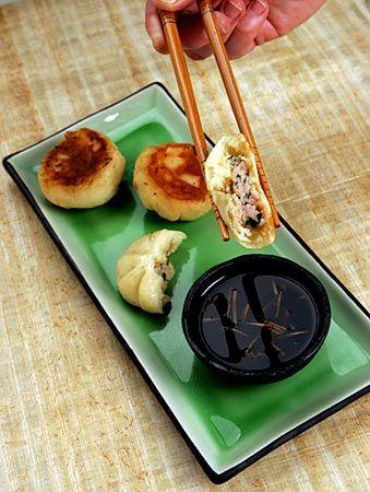 Recipe: Pan-fried pork and scallion mini buns (Sheng jian bao zi)