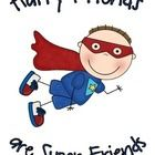 Great book for teaching friendship skills to young kids!!  Super Friends, uses the enticing world of super heroes and super powers, to engage readers in learning how to be a good friend.