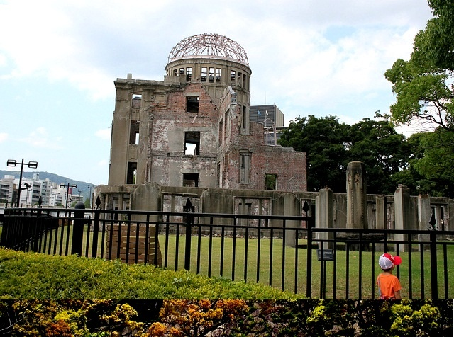 Hiroshima Peace Memorial, Japan