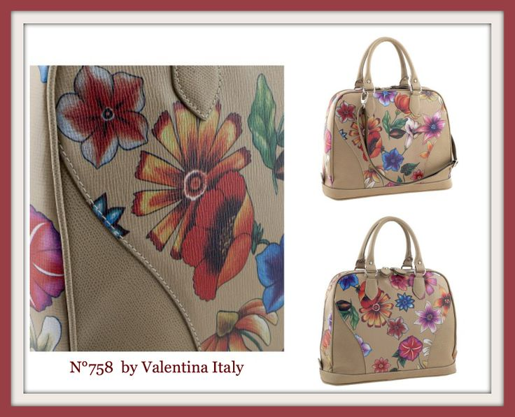 N°758 by Valentina Italy- #leather #handbag available on www.tuscanleatherdistrict.it only #madeinitaly