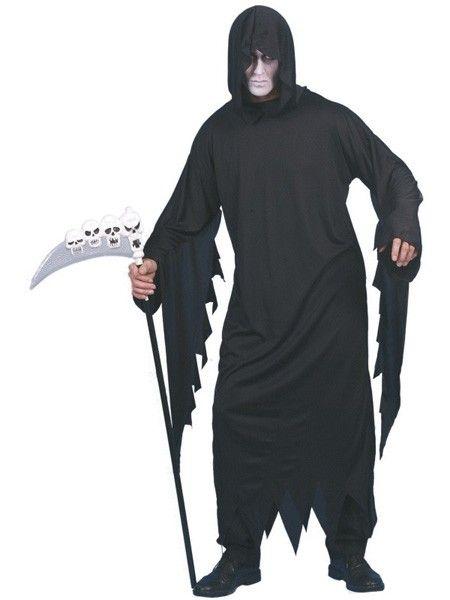 Halloween Kostuums & Verkleedkleding - Eng Screamer Grim Reaper Dodengraver Kostuum