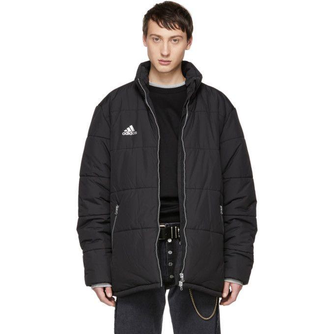 Gosha Rubchinskiy Black adidas Originals Edition Puffer