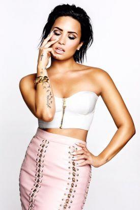 Veja imagens do ensaio fotográfico de Demi Lovato para a revista Vanity Fair