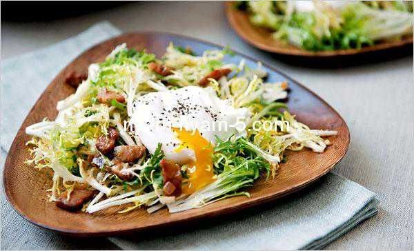 Ліонський салат від Юлії Висоцької : Ням ням за 5 хвилин