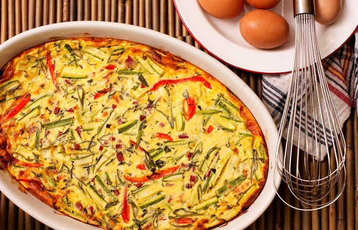 Ομελέτα φουρνου με λαχανικά