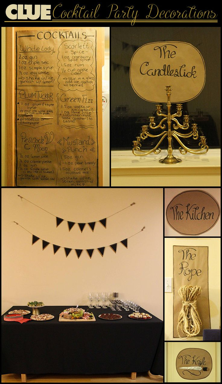 Best 20+ Clue themed parties ideas on Pinterest | Clue party, Clue ...