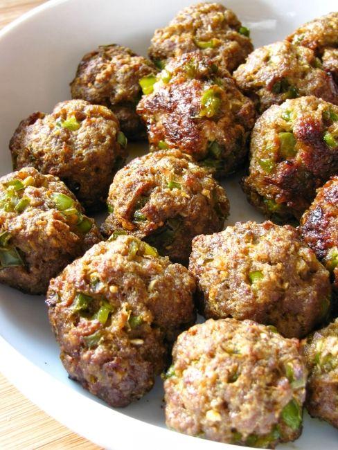 Hairy Dieters transylvanian beef meatballs.