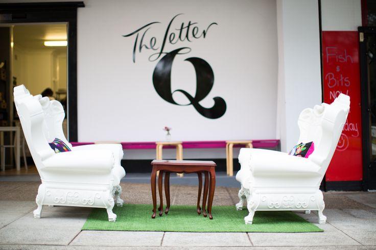 Letter Q Cafe. Kotara, Newcastle   www.frostcateringequipment.com.au