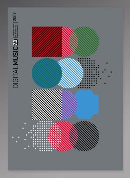 Visual identity - Eric Coll and Sergio Ibañez at Barcelona studio Setanta / 디지털 뮤직