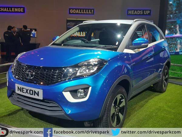 2016 Auto Expo: Tata Nexon Unveiled, Retains Insane Concept Looks  #AutoExpo2016 #Tata