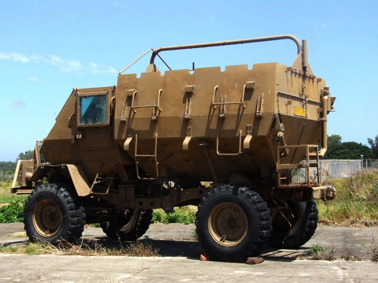 The first effectice MRAP the South African Buffel [1280x960]