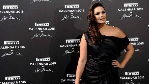 Una modelo de 90 kilos, la gran estrella del calendario Pirelli