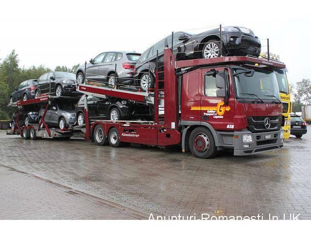Transport Masini si Persoane | Transport autorizat de masini pe platforma | Ultimile anunturi: Anunturi Romanesti In UK