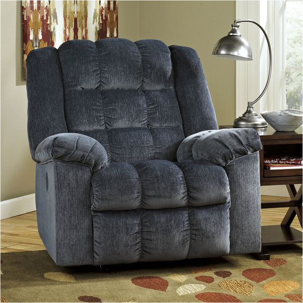 Ludden Power Recliner ($540) ❤ liked on Polyvore featuring home, furniture, chairs, recliners, signature design by ashley, power recliners, power chair, signature design by ashley furniture and power recliner chair