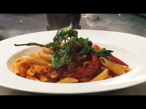 Penne arrabbiata - Italian recipe - YouTube