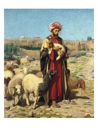 A Shepherd of Jerusalem | Posters & Prints of the Holy Land