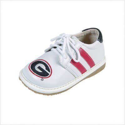 Squeak Me Shoes 4241 Boys' University of Georgia Sneaker Size: 8 (Toddler)