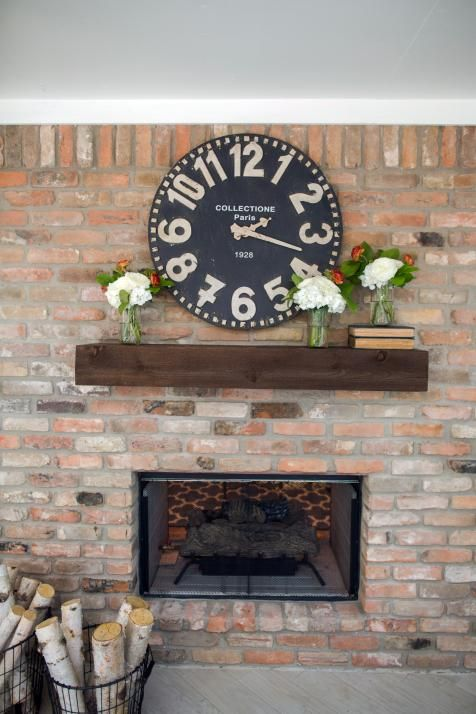 98 Best Images About Fireplace Makeover On Pinterest