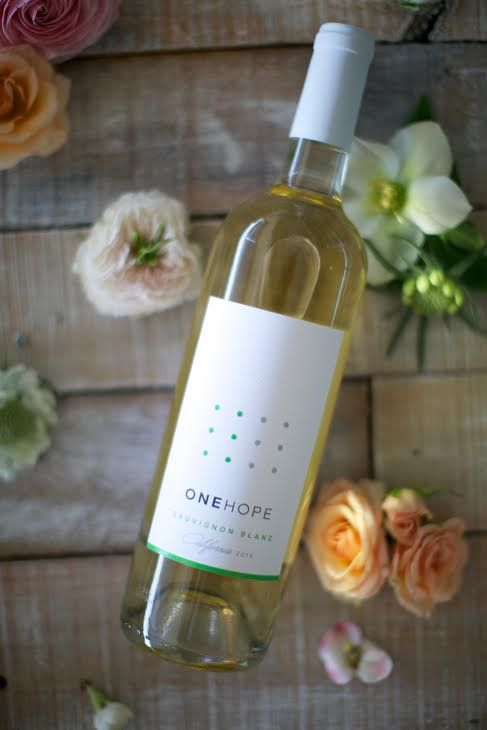 ONEHOPE wine - perfect choice for Earth Day tomorrow! Sauvignon Blanc