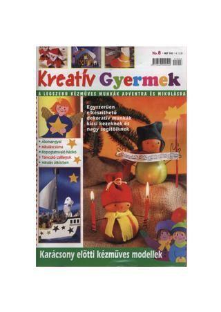 kreativ gyermek no. 08 by boldogpeace, 48 oldalas lapotható füzet