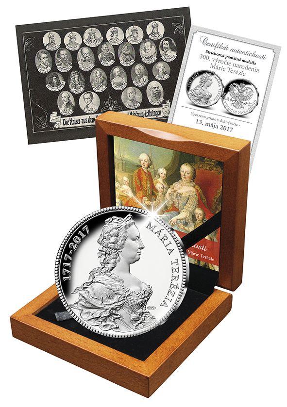 ri príležitosti 300. výročia narodenia Márie Terézie, zrealizovala Národná Pokladnica exkluzívny projekt - razbu dňa!