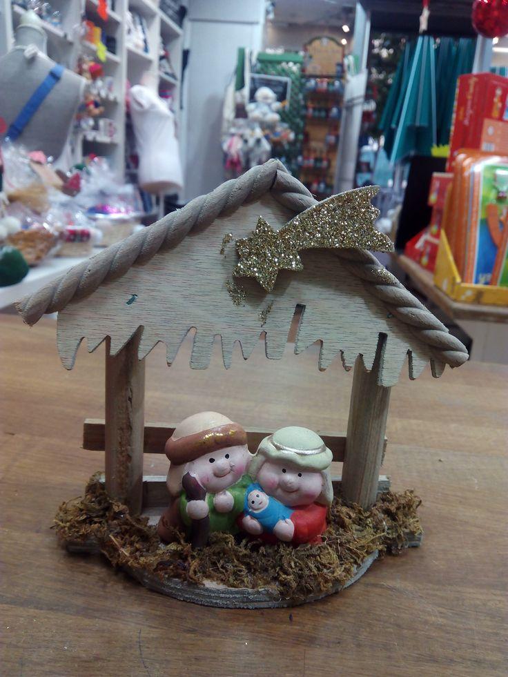 ¿Te gusta este belén? Encuéntralo esta Navidad en Zaragoza Olé Souvenirs