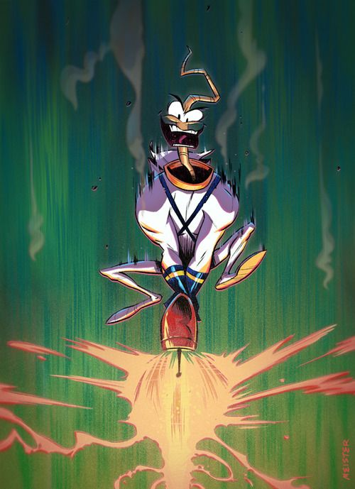 Earthworm Jim by Eric Meister