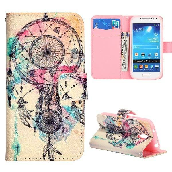 Dreamcatcher bookcase hoes voor Samsung Galaxy S4 mini